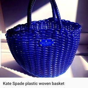 Kate spade woven basket